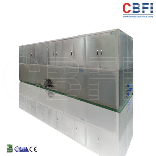 Two Cube Ice Sizes Optional Ice Cube Machine / Small Ice Cube Maker Machine For Cold Drink Shop